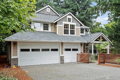Mercer Island Single Family Home For Sale: 2947 72nd Ave SE