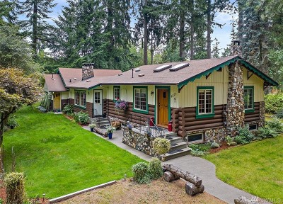 Port Orchard Single Family Home For Sale: 8279 SE Sedgwick Rd