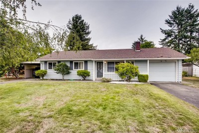 Lakewood Single Family Home For Sale: 8803 Terrace Rd SW