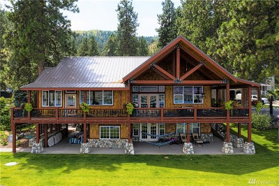 Chelan County Single Family Home For Sale: 4135 Sunnybank Dr