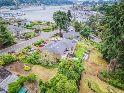 Gig Harbor Single Family Home For Sale: 4050 Burnham Dr