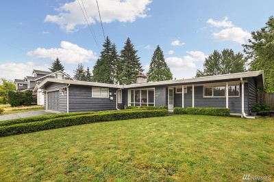 Bellevue Single Family Home For Sale: 10431 NE 28th Place