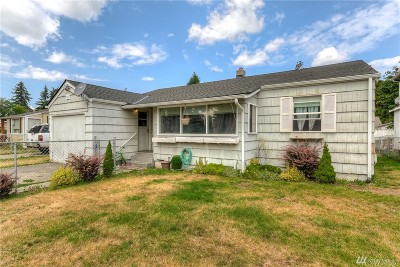 Tacoma Single Family Home For Sale: 861 117th St S