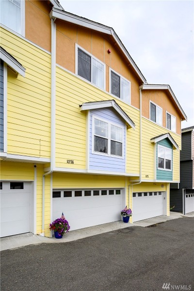 Burien Condo/Townhouse For Sale: 1076 SW 130th St