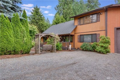 Snohomish Single Family Home For Sale: 17908 Trombley Rd