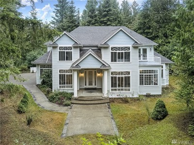 Thurston County Single Family Home For Sale: 5836 Puget Rd NE