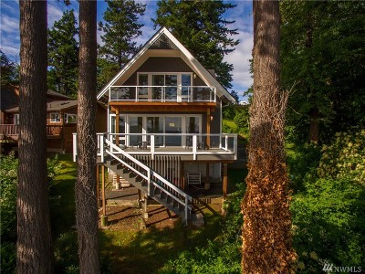 Lummi Island Single Family Home For Sale: 2372 N Nugent Rd