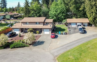 Pierce County Multi Family Home For Sale: 603 107th Ave E