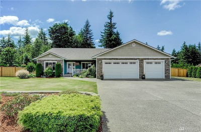 Stanwood Single Family Home For Sale: 26210 31st Ave NW