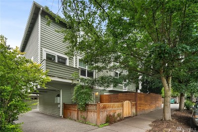 Seattle Single Family Home For Sale: 4807 Fremont Ave N #A