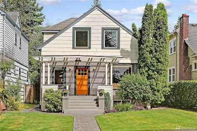 Seattle Single Family Home For Sale: 1906 46th Ave SW