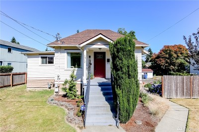 Tacoma Single Family Home For Sale: 1317 S Proctor St