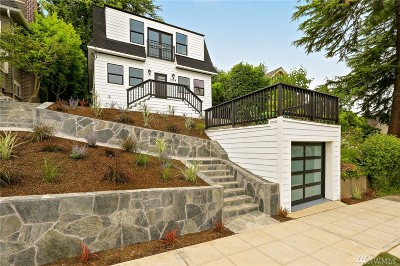 Seattle Single Family Home For Sale: 1719 37th Ave