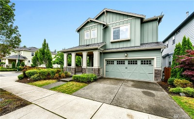 Issaquah Single Family Home For Sale: 1563 14th Place NE