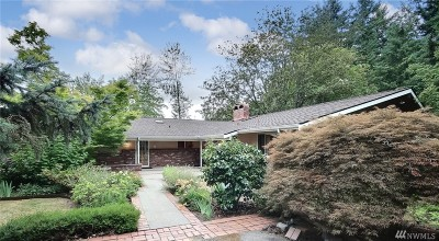 Renton Single Family Home For Sale: 10006 SE 192nd St