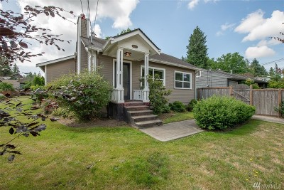 Seattle Single Family Home For Sale: 3209 95th St