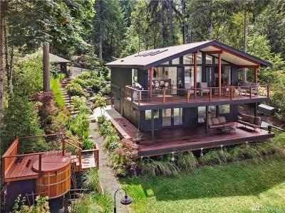 Bainbridge Island Single Family Home For Sale: 17950 Agate Pass Rd NE