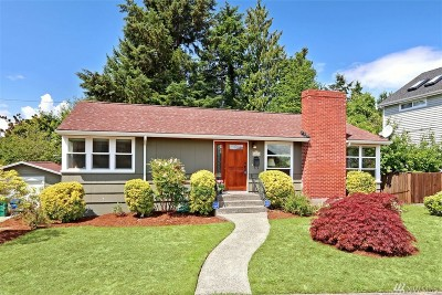 Seattle Single Family Home For Sale: 4319 30th Ave W