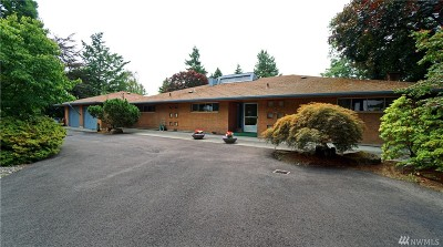 Seattle Single Family Home For Sale: 8241 S 128th St