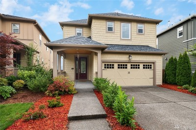 Issaquah Single Family Home For Sale: 1599 14th Place NE