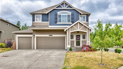 Spanaway Single Family Home For Sale: 2504 194th St Ct E