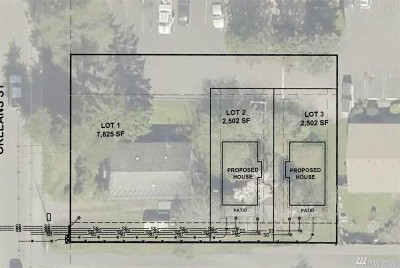 Bellingham Residential Lots & Land For Sale: 3110 Orleans St