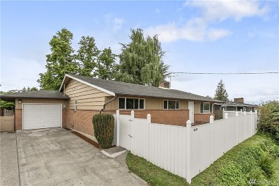 Seattle Single Family Home For Sale: 6217 S 117th Place