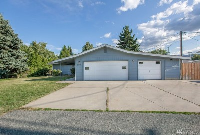 Wenatchee Single Family Home For Sale: 1719 Norman St