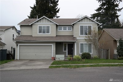 Spanaway Single Family Home For Sale: 1715 186th St Ct E
