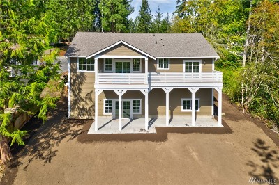Allyn Single Family Home For Sale: 281 E Mountain View Dr