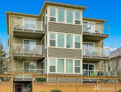 Seattle Condo/Townhouse For Sale: 2417 NW 59th St #301W