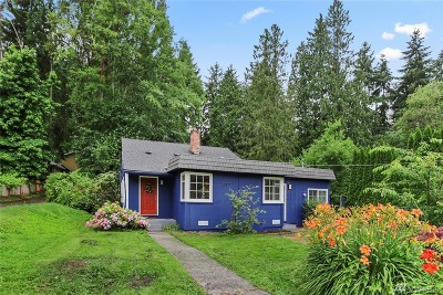 Shoreline Single Family Home For Sale: 20101 12th Ave NE