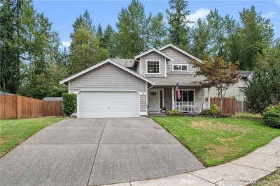Spanaway Single Family Home For Sale: 6215 219th St Ct E