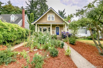 Tacoma Single Family Home For Sale: 4008 N 34th St