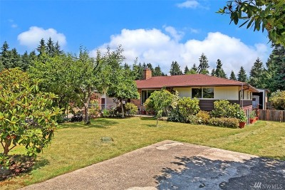 Edmonds Single Family Home For Sale: 22519 95th Place W