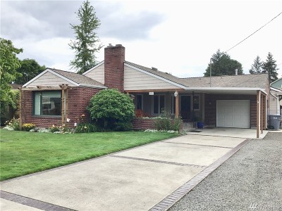 Puyallup Single Family Home For Sale: 802 18th St NW