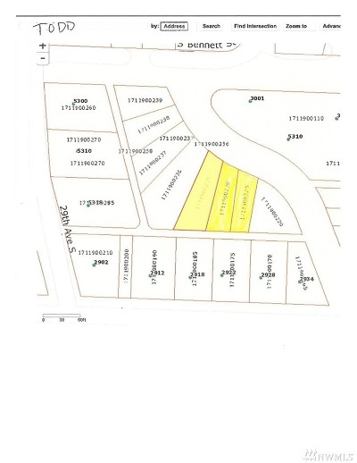 Seattle Residential Lots & Land For Sale: 1711905,1711900230,17119002250