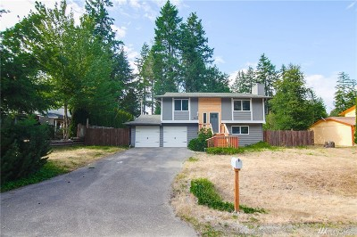 Gig Harbor Single Family Home For Sale: 9609 137th St NW