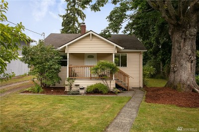 Seattle Single Family Home For Sale: 8650 12th Ave SW