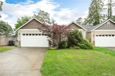 Spanaway Single Family Home For Sale: 2132 179th St Ct E