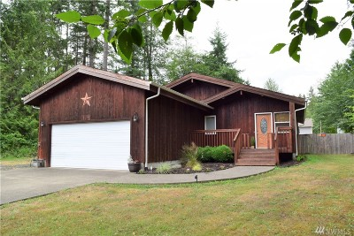Shelton Single Family Home For Sale: 5541 E Agate Rd. Rd