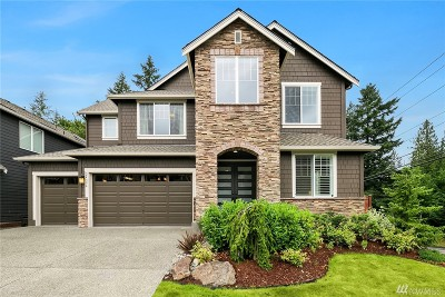Sammamish Single Family Home For Sale: 24396 NE 27th Place