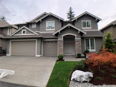 Sammamish Single Family Home For Sale: 26611 SE 9th Wy
