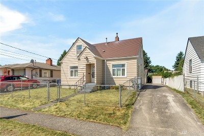 Tacoma Single Family Home For Sale: 6516 S Bell St