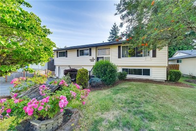 Renton Single Family Home For Sale: 18915 129th Place SE