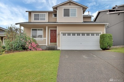 Puyallup Single Family Home For Sale: 6621 132nd St E