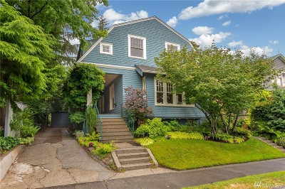 Seattle Single Family Home For Sale: 1415 Orange Place N