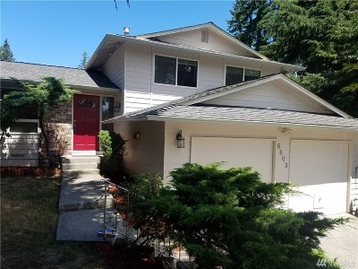 Mountlake Terrace Single Family Home For Sale: 6603 224th St SW