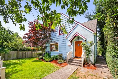 Seattle Single Family Home For Sale: 2521 29th Ave W