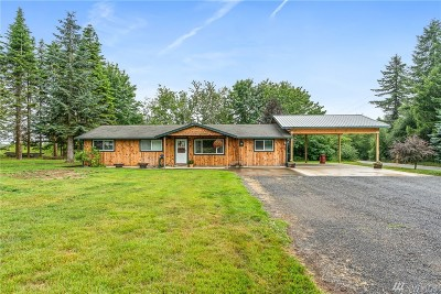 Onalaska Single Family Home For Sale: 3192 Centralia Alpha Rd